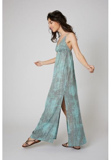 Vestido Largo Balbi  Azul...